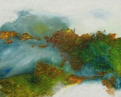 Acrylbild-auf-Leinwand-Überschwemmungsgebiet-AbstrakteKunstDeppe