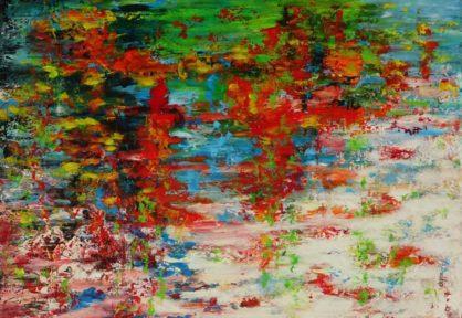 Acrylbild-auf-Leinwand-Rakel 126