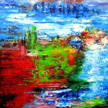Acrylbild-auf-Leinwand-Rakel 129-AbstrakteKunstDeppe