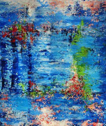 Acrylbild-auf-Leinwand-Rakel 132-AbstrakteKunstDeppe