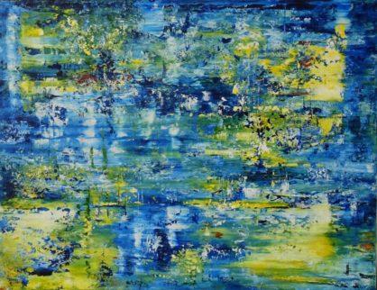 Acrylbild-auf-Leinwand-Rakel 133-AbstrakteKunstDeppe