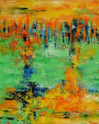 Acrylbild-auf-Leinwand-Rakel 136-AbstrakteKunstDepp