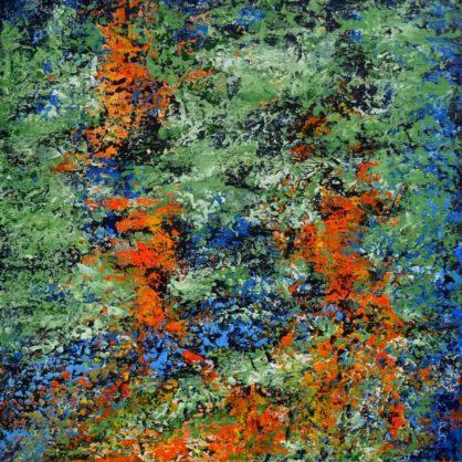Acrylbild-auf-Leinwand-Rakel 142-AbstrakteKunstDeppe