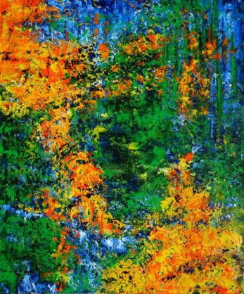 Acrylbild-auf-Leinwand-Rakel 143-AbstrakteKunstDeppe