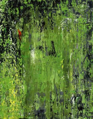 Acrylbild-auf-Leinwand-Rakelkunst-Rakel 39-AbstrakteKunstDeppe