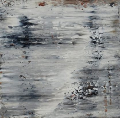 Acrylbild-auf-Leinwand-Rakelkunst-Rakel 49-AbstrakteKunstDeppe