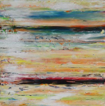 Acrylbild-auf-Leinwand-Rakelkunst-Rakel 57-AbstrakteKunstDeppe