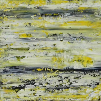 Acrylbild-auf-Leinwand-Rakelkunst-Rakel 68-AbstrakteKunstDeppe
