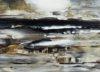 Acrylbild-auf-Leinwand-Rakelkunst-Rakel 71-Detail1-AbstrakteKunstDeppe