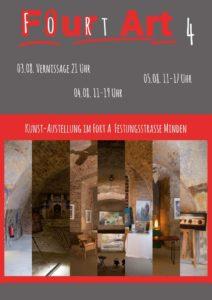 Kunstausstellung - Fourt Art 4 - Fort A in Minden - 03.08.2018-05.08.2018