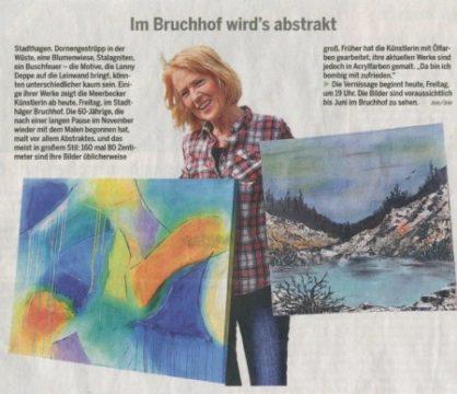 Ausstellung Lonny Deppe im Bruchhof Stadthagen - Schaumburger Nachrichten