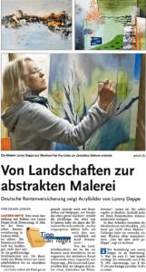 DRV Braunschweig-Hannover - Kunstausstellung Abstrakte Malerei Lonny Deppe