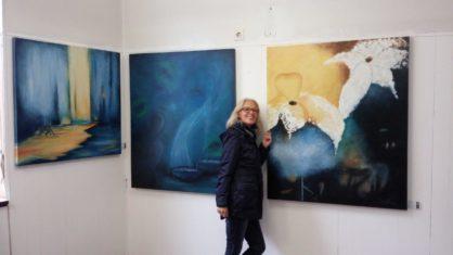 Ausstellung von Lonny Deppe - Lange Nacht der Kultur in Bückeburg