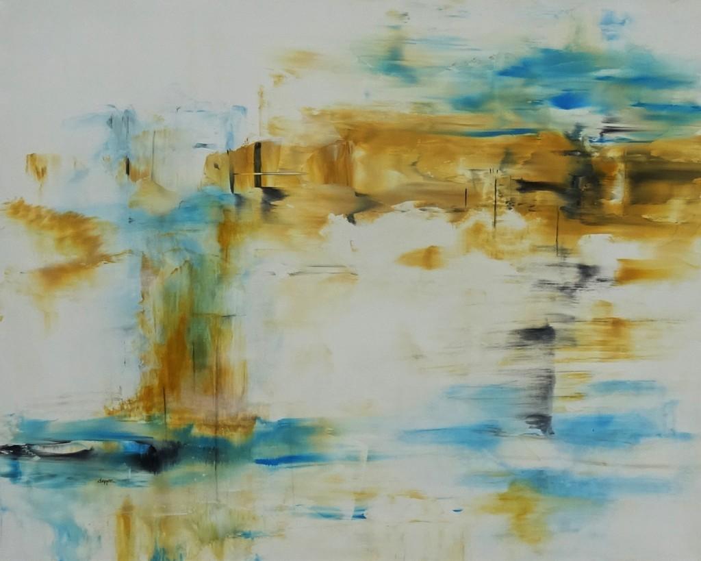 Acrylbild »Rakel 135« aus dem Atelier von Lonny Deppe