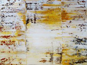 Rakel 14 90 x 120 cm - Abstrakte Malerei in Acryl auf Leinwand