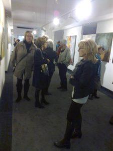 Kunstetage Lauenau - Vernissage Ausstellung Lonny Deppe